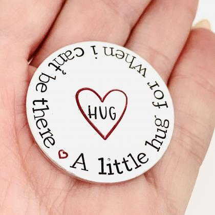 Personalised Pocket Hug, Positivity..