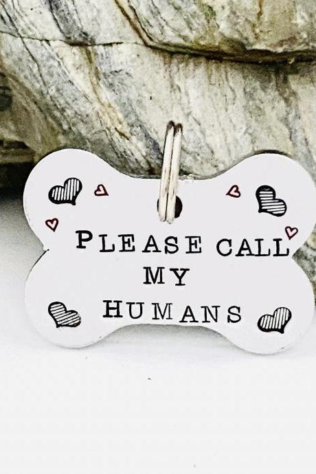 Bone Shaped Dog Tag, Dog ID Tag, Personalised Dog Tag, Dog Tags For Dogs, Gift For The Dog, ID Pet Tag, Custom Pet Tag, Pet Name Tag, Puppy.