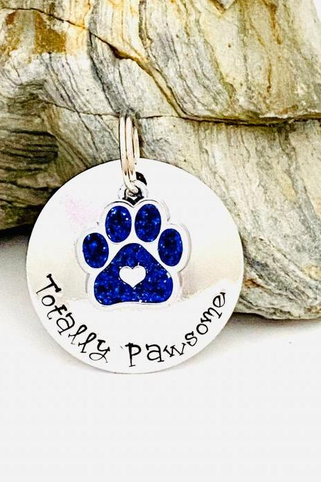 Pet ID Tag, Dog Tag, Dog Tags For Dogs, Custom Dog Tag, Personalised Dog Tag, Puppy Dog Tag, Dog Collar Name Tag, Personalized Pet Tag.